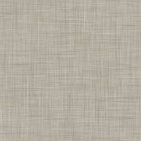 Natural Gray French Linen Texture Background. Old Ecru Flax Fibre Seamless Pattern. Organic Yarn Close Up Weave Fabric for Wallpaper, Sack Cloth Packaging, Canvas . Vector.