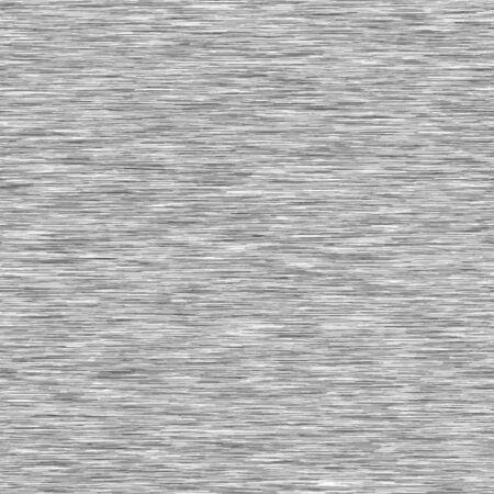 Dunkelgrauer Mergel-Heide-Beschaffenheits-Hintergrund. Faux Baumwollstoff mit vertikalem T-Shirt-Stil. Vektor-Muster-Design. Hellgrau Melange Space Dye für Textileffekt. Vektor-EPS. Vektorgrafik
