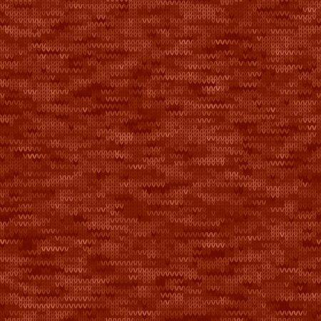 Dark Red Denim Marl Melange Tweed Effect Vector Seamless Pattern. Heathered Denim Knitting Style. Indigo Space Dyed Texture Fabric Textile Background. Wool All Over Print with Water Feel.