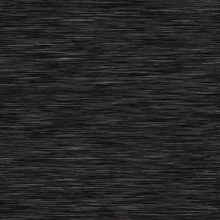 Charcoal Gray Marl Variegated Heather Texture Background. Vertical Blended Line Seamless Pattern. For T-Shirt Fabric, Dyed Organic Jersey Textile, Triblend Melange Fibre All Over Print. Vektorgrafik