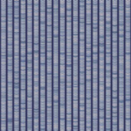 Vertical Stripe Variegated Texture Background. Denim Gray Blue Blended Line Seamless Pattern. Masculine Shirting, Bleach Faded Dye Textile. For Trendy Triblend Melange All Over Print.