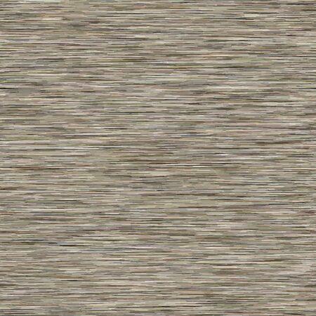Grey Marl Khaki Variegated Heather Texture Border Background. Vertical Blended Line Seamless Pattern. Faux T-Shirt Fabric Dyed Organic Jersey Textile Banner. Triblend Melange Banner. Иллюстрация