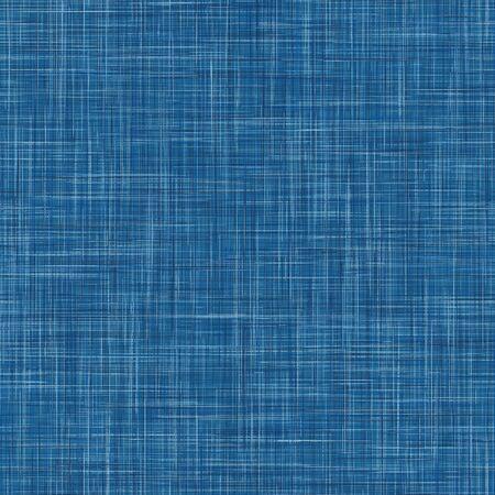 Fond De Texture De Lin Français Denim. Modèle Sans Couture De Fibre De Teinture Bleu Indigo. Tissu à effet de tissage en gros fil organique pour papier peint textile de jeans masculins, emballage.