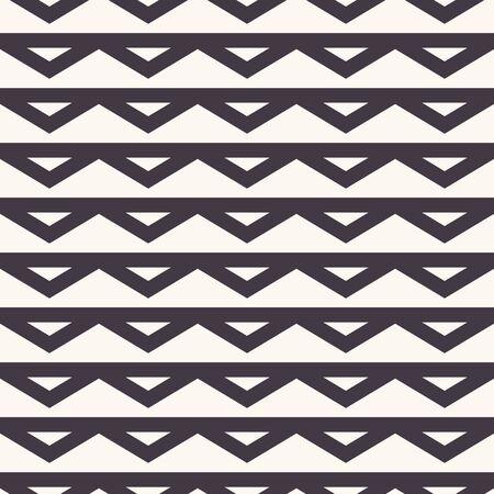 Thin Zig Zag Chevron Stripe Monochrome Black and White Texture. Regular Tone on Tone Diamond Grid Seamless Pattern Swatch Background. Off White Minimalistic Cloth Effect. Repeat.