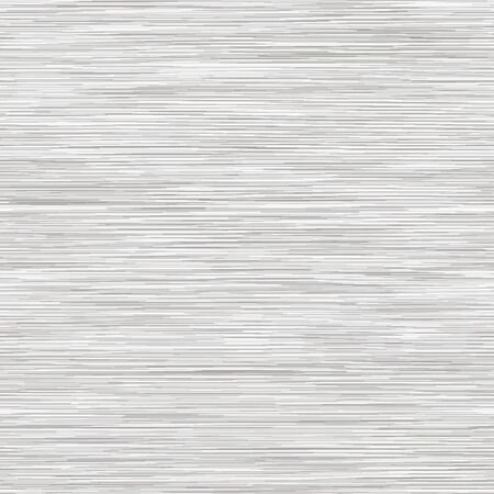 White Grey Marl Heather Texture Background. Faux Cotton Fabric with Vertical T Shirt Style. Vector Pattern Design. Light Gray Melange Space Dye for Textile Effect