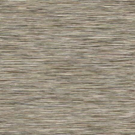 Grey Marl Khaki Variegated Heather Texture Border Background. Vertical Blended Line Seamless Pattern. Faux T-Shirt Fabric Dyed Organic Jersey Textile Banner. Triblend Melange Banner.