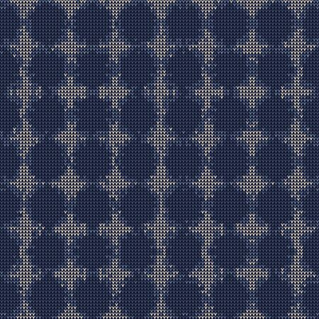 Bleach Knitted Marl Variegated Heather Texture Background. Denim Gray Blue Blended. Faded Acid Wash Seamless Pattern. Polka dot Tie Dye Effect Textile, Melange All Over Print. Stock Illustratie