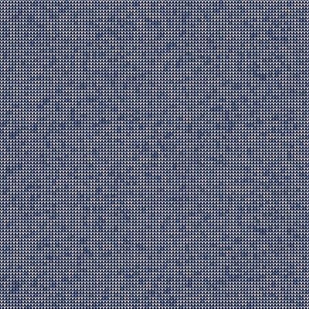 Knitted Marl Variegated Heather Texture Background. Denim Gray Blue Blended Line Seamless Pattern. For Woolen Fabric, Dyed Nordic Textile, Triblend Melange Scandi All Over Print.