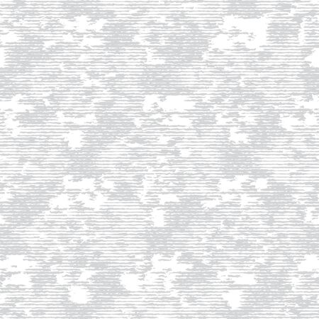 Grey White Monochrome Irregular Brick Wall Texture Background. Rough Distressed Stone Effect Melange Seamless Pattern. Achromatic Neutral Grunge Geo All Over Print. Vector Repeat Tile. Иллюстрация
