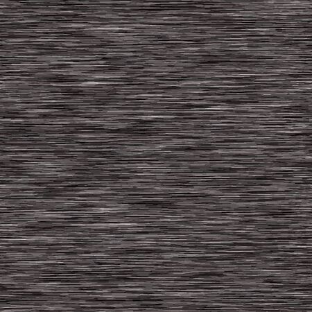 Black Charcoal Gray Marl Variegated Heather Texture Background. Vertical Blended Line Seamless Pattern. For T-Shirt Fabric, Dyed Organic Jersey Textile, Triblend Melange Fibre All Over Print.