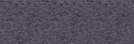 Knit Grey Marl Texture Border on Variegated Heather Background. Denim Blue Blended Line Seamless Pattern. For Woolen Fabric Ribbon, Nordic Textile Banner, Triblend Melange Edging. 矢量图像