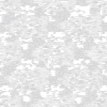 Grey White Monochrome Irregular Brick Wall Texture Background. Rough Distressed Stone Effect Melange Seamless Pattern. Achromatic Neutral Grunge Geo All Over Print. Vector Repeat Tile