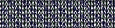 Vertical Stripe Variegated Texture Border Background. Denim Gray Blue Blended Line Seamless Pattern. Masculine Banner, Bleach Faded Dye Textile. For Trendy Triblend Melange Ribbon trim.