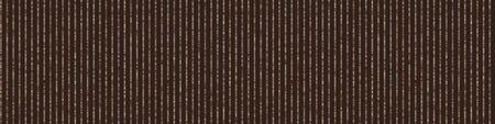 Dark Brown Knit Stitch Stripe Border Texture Background. Seamless Pattern in Multicolor Variegated Dye Ribbon Trim. Knitting Craft Background. Hand Drawn Winter Stitch Effect Banner. . 矢量图像