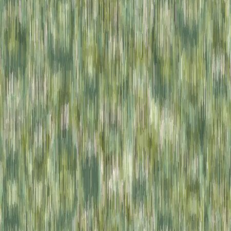 Spliced vector camouflage marl texture. Variegated mottled background. Seamless camo heather pattern. Modern distorted masculine textile all over print. Military green fashion disrupted glitch repeat.
