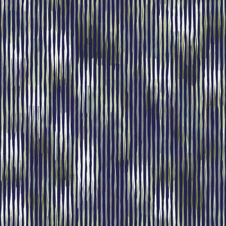 Spliced vector camouflage stripe texture. Variegated mottled background. Seamless camouflage pattern. Modern distorted masculine textile all over print. Green bleed fashion disrupted glitch repeat. 向量圖像