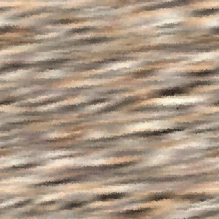 Camouflage vector fur marl stripe texture background. Faux effect animal skin style. Vector variegated blurred melange pattern design. Camo distressed space dye textile diagonal stripe design.