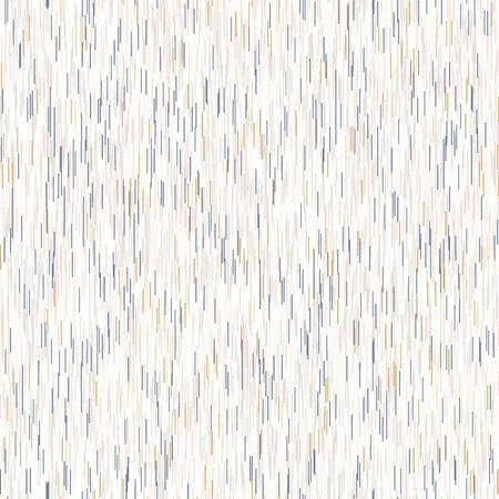 White marl heather dense stripe vector texture background. Broken ikat style line on off white seamless pattern. Light variegated striped interior home decor swatch. French space dye all over print