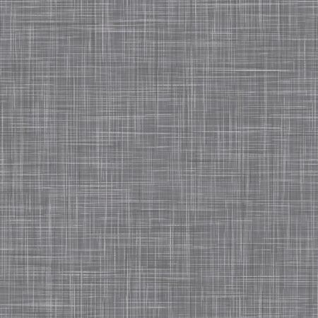 Natural dark gray french woven linen texture background. Old raw flax fibre seamless pattern. Organic yarn close up weave fabric wallpaper. Ecru grey burlap fine canvas. Cloth effect repeat tile