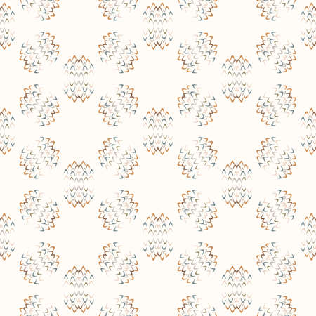Seamless background gender neutral baby shape pattern. Simple whimsical minimal earthy 2 tone color. Kids nursery wallpaper or boho confetti fashion all over print.