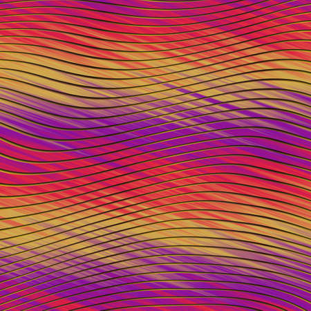 Blurry neon gradient glitch abstract texture background. Wavy irregular bleeding dye seamless pattern. Digital ombre distorted all over print.