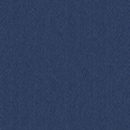 Raw Blue Faux Denim Texture Background. Dark Plain Indigo Chambray Seamless Pattern. Close Up Textile Weave for Classic Work WearJeans Fabric Effect. Dyed Men Fashion Apparel. Vector EPS10 Repeat Tile