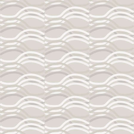 Seamless pattern. Neutral cream stripe background. Elegant minimal off white beige linen texture. Stylish line all over print.