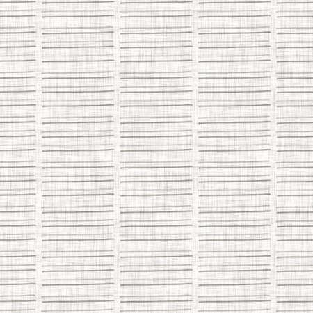 Seamless gray french woven linen rope stripe texture background. Farmhouse ecru flax hemp fiber natural pattern. Organic yarn close up weave fabric. Ecru greige cloth textured rough material Foto de archivo
