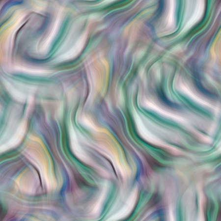 Blurry gradient glitch abstract watercolour texture background. Wavy irregular bleeding dye wash seamless pattern. Digital tie dye ombre distorted all over print. Variegated modern backdrop.