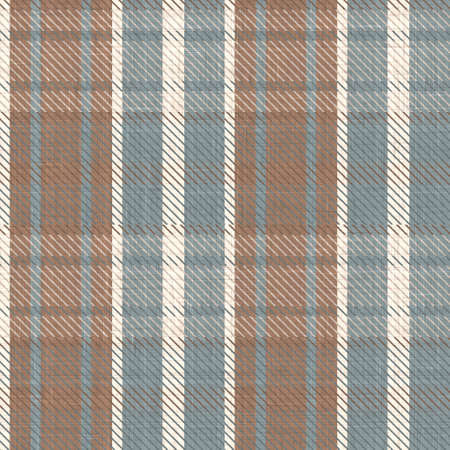 Cute gender neutral seamless pattern. Checkered scottish flannel print for celtic home decor. For highland tweed trendy graphic design.