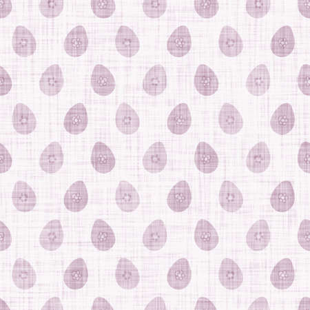 Cute easter egg scribble doodle background. Hand drawn whimsical motif seamless pattern. Naive simple crayon style for minimal baby fashion, nursery decor, unisex kid scrapbook paper.