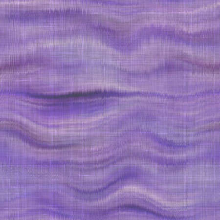 Variegated tie dye retro texture background. Seamless textile linen pattern effect. Striped blur grunge print. Washed out melange blotch backdrop. Archivio Fotografico