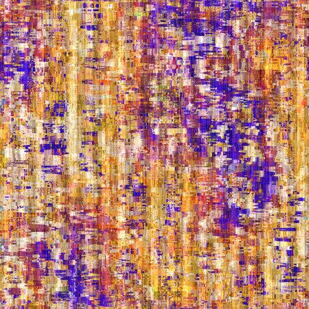 Rainbow camo grunge mash up texture background. Colorful bold irregular distressed seamless pattern. Modern boho dye linen textile. Soft furnishing home decor. Decorative blotch mottled allover print