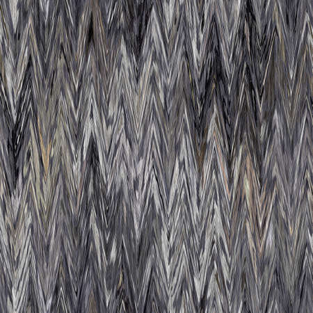 Rustic ikat mottled grey woven texture background. Chevron zig zag yarn effect fabric textile. Variegated melange all over print . Irregular uneven indian thread all over print for soft furnishing. 免版税图像