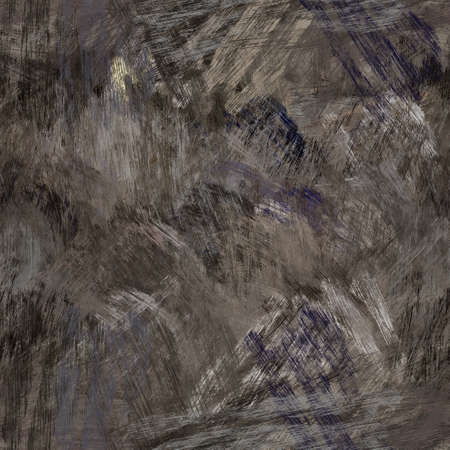 Seamless abstract painted brushed texture. Spikey material pattern background. Grunge rough colour wood chip textile print.