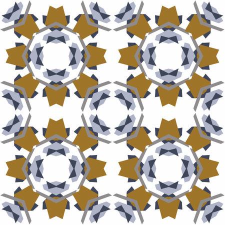 Masculine geometric seamless pattern. Classic retro geo shape for digital scrapbook paper and repeatable men gift wrap design in vector.