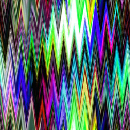 Blurred solarized ombre chevron seamless texture. Trendy soft multicolor digital lens flare gradient zig zag style. Modern trendy motion ikat fashion print.