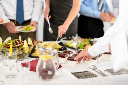 Business catering food for company formal celebration close-up Stock Photo - 13831798