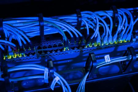 Les câbles réseau à commutation de datacenter