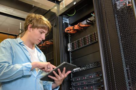 IT Configuration des serveurs spécialisés dans le climat contrôlé datacenter Banque d'images