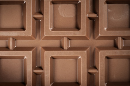 endorphines: chocolate bar, close up