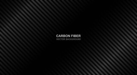 Abstract .Carbon fiber background. black background ,light and shadow. Vector. Stock Illustratie