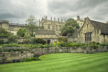 oxford university campus in england
