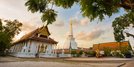 Temple at Nakhon Si Thammarat province of Southern Thailand.