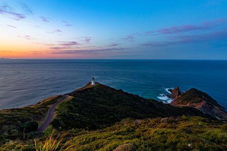 Cape reinga lighthouse in new zealand