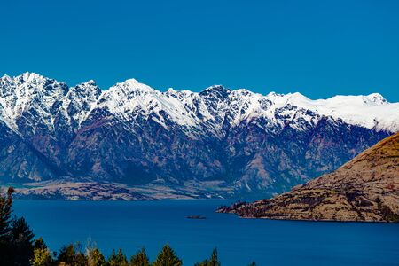 The remarkables in Queenstown, new zealand