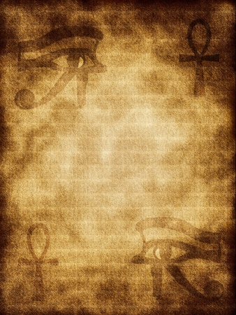 ancient civilization: The ancient Egyptian symbols on background