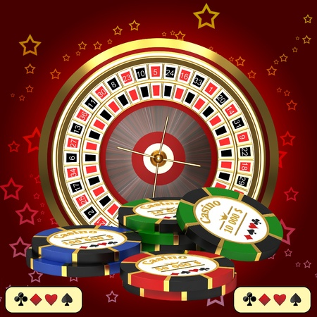 casino roulette: Casino Stock Photo