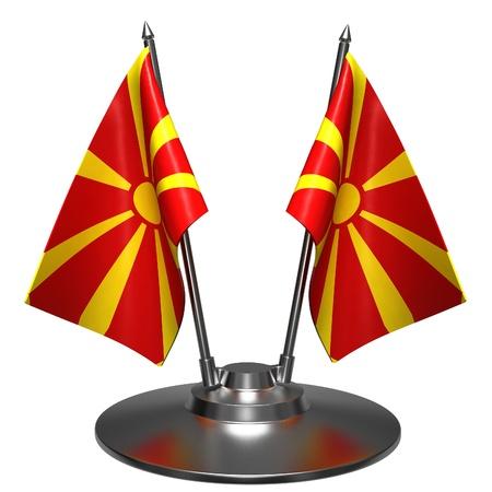 macedonia: Flag of Macedonia Stock Photo