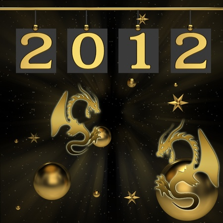 Background for new 2012 year photo